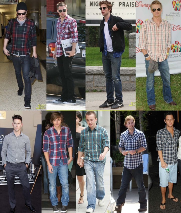 camisa-social-xadrez