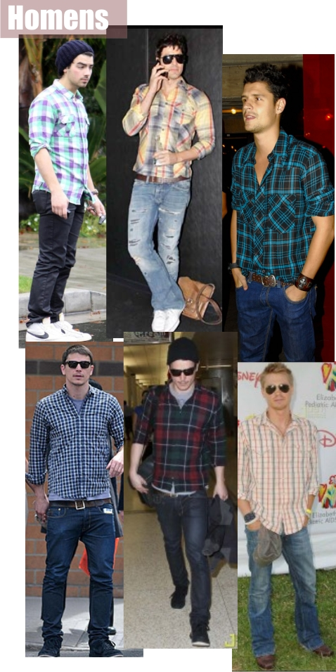 camisa-xadrez-homens