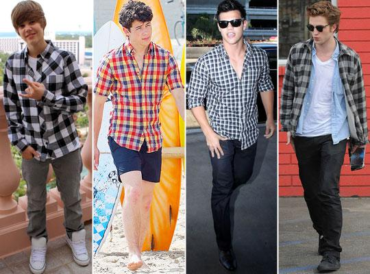 camisa-xadrez-masculina-lindas