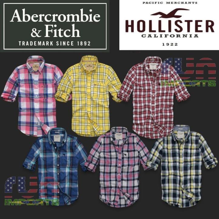 camisas-xadrez-masculinas-abercrombie-fitch-hollister-usa_MLB-F-2784567829_062012