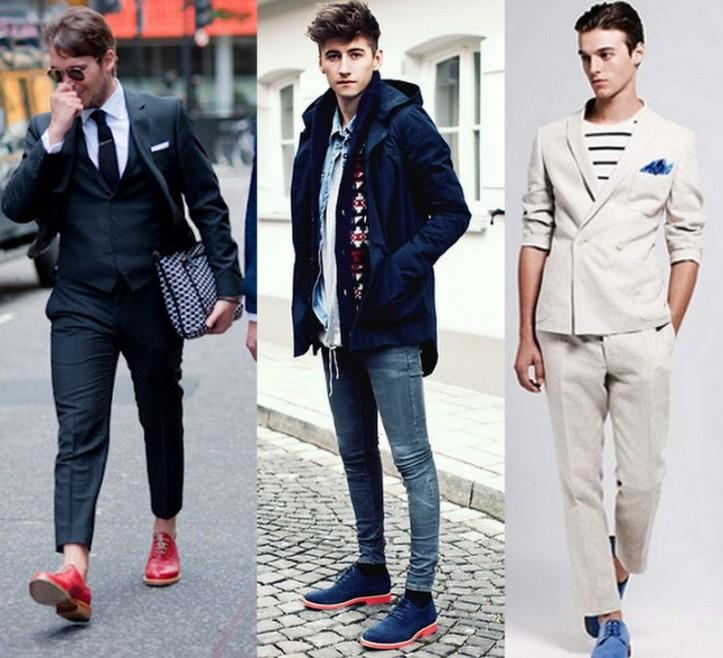 Homem-Sapato-colorido