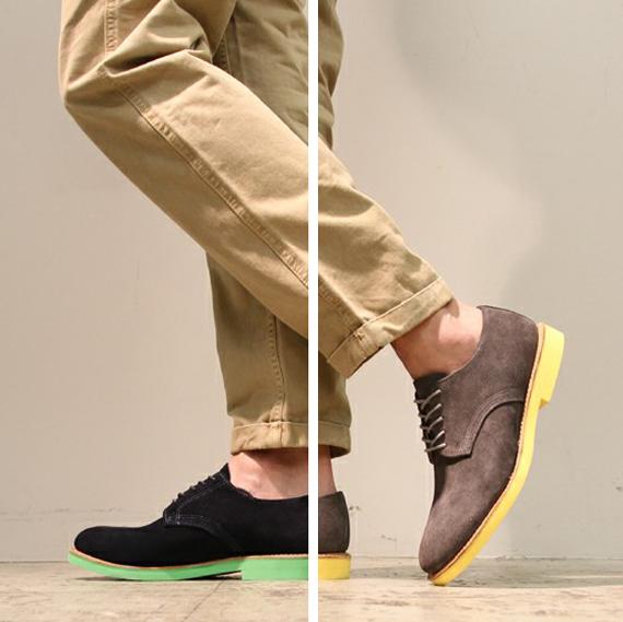 Sapato masculino com sola colorida, sapato com sola colorida, sola colorida, moda masculina, moda masculina 2013, moda sem censura, calçado masculino 2013, alex cursino