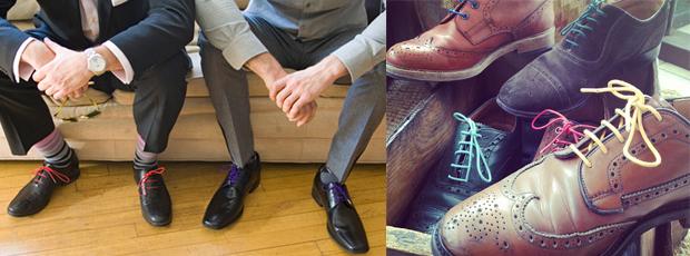 Sapatos-Cadarços-Coloridos